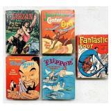 5 Vintage Big Little Books