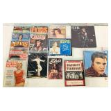 Lot of Elvis Magazines, Calendars, More