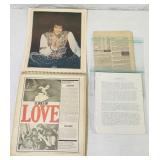Elvis Scrapbook loaded with neat articles,