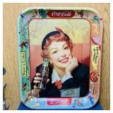 "Vintage Coke Advertising Tray, 10.5"" x 13"""