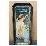 "1972 Coke Advertising Tray, 8.5"" x 19"""