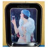 "1970 Coke Advertising Tray, 11"" x 13"""