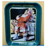 "1992 Coke Advertising Tray,11"" x 13"""