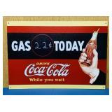 "Coke Advertising Tin Sign,12"" x 17"""