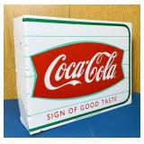 Double Sided Coke Advertising Tin Sign