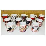 NOS 1992 and 1997 Coke Coffee Cups (12)