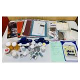 Craft Lot, Embossing Powder, Glitter, Stencils,