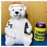 1998 Coke Bear Cookie Jar