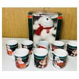 8 Coke Coffee Cups, Animation Collection Bear