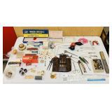 Lot of Vintage Dentist Equipment, Tools, Wax,