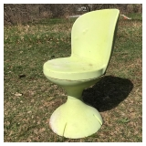 Rare Vaun Gaurde Chair made in Owosso, Michigan