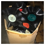 Records formed into bowls