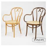 2 Bentwood Thonet Style Chairs