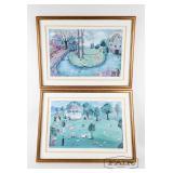 Two Prints by Karri McCue