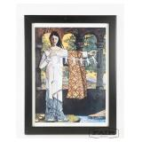 """Framed """"Sarah and The Promise"""" Print"""
