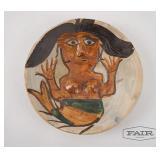 Dolores Porras Pottery Mermaid Plate