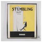 Framed Play Poster for Stumbling