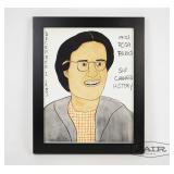 Framed Miss Rosa Parks Painting