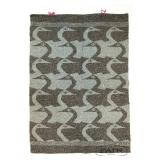 Hand Woven Wall Hanging of Swans