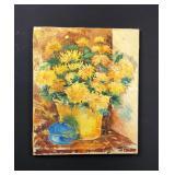 Original floral still life- Marilyn Dorfman