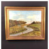 Original Barn landscape - Betty Haggerty