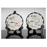 Pair of Japanese Hand Painted Porcelain