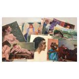 Original paintings on canvas