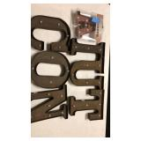 Marquee style letters