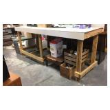 Workbench with 2x construction