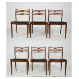 Set of Six Dining Chairs, Attrib. to Erik Buch