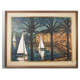 Bernard Buffet Nautical Print