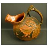 Roseville Brown Bushberry Pitcher