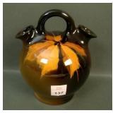 Weller Louwelsa Standard Glaze  Double Spout Jug