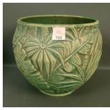 Wellerr Green Marvo Lg. Round Vase