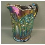 LE Smith Purple Octagon Water Pitcher