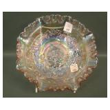 Imperial/lenox Ice Pink Windmill Bowl