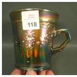 Fenton Aqua/MG Orange Tree Standard Mug