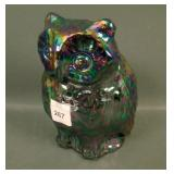 Fenton Contemporary Purple Figural Owl