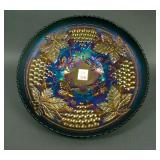 """11"""" N Grape and Cable Large Ice Cream Bowl w/"""