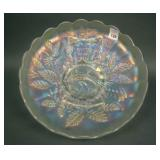N Peacock at the Urn Lg. Ice Cream Bowl – White