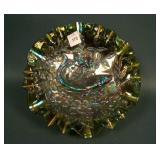 """8 3/4"""" Millersburg Trout and Fly Bowl w/ 3 in 1"""
