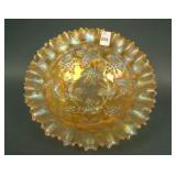 """8 1/2"""" N Grape and Cable Variant Bowl w/ PCE and"""