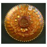 """9"""" N Three Fruits Stippled Plate w/ Ribbed Ext. –"""