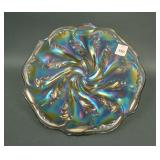 """10"""" Imperial Acanthus Flat Plate – Smoke (very"""