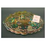 N Grape and Cable Small Pin Tray – Green (very