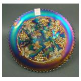 """9"""" N Grape and Cable Variant Plate w/ Basketweave"""