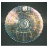 """8 7/8"""" N Nippon Flared Plate w/ Plain Ext. – Ice"""