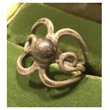 Vintage Sterling Silver Ring Size 8