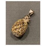 Sterling Silver Pineapple Pendant