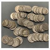 50x Mercury Dimes - Assorted Dates